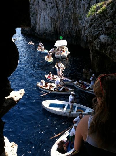 Cliffside queue