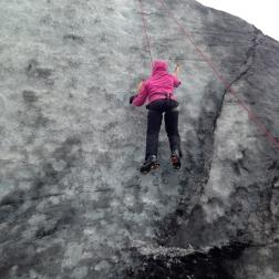 ...you're REALLY climbing a glacier?!?!