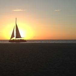 Sunset view...